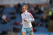 Burnley midfielder Matthew Taylor (15)  during the Sky Bet Championship match between Burnley and Leeds United at Turf Moor, Burnley, England on 9 April 2016. Photo by Simon Davies.