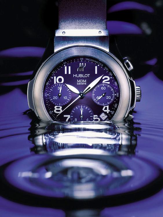 Hublot Diver watch in water