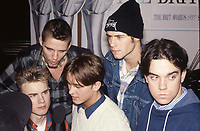 Take That at The BRIT Awards Launch 1993 <br /> Monday 11 Jan 1993.<br /> The Hard Rock Cafe, London, England<br /> Photo: JM Enternational
