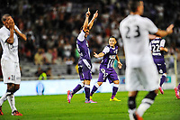 SOCCER : Toulouse vs Caen - Day 6 French L1 - 09/20/2014<br /> Goal et joie Pavle Ninkov (tfc)<br /> Norway only