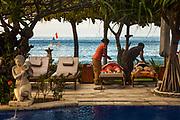 Massage at lodge, Bali, Indonesia