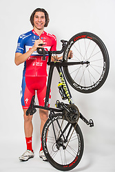Aljaz Jarc during photo session of Cycling Team KK Adria Mobil, on January 22, 2018 in Novo Mesto, Novo Mesto, Slovenia. Photo by Vid Ponikvar / Sportida