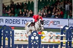 MEYER Tobias (GER), Queentina<br /> Hagen - Horses and Dreams 2019<br /> Preis der LVM Versicherung - CSI4* Quali. BEMER-RIDERS TOUR-Wertung<br /> 27. April 2019<br /> © www.sportfotos-lafrentz.de/Stefan Lafrentz