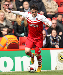 Charlton Athletic's Tony Watt - Photo mandatory by-line: Robbie Stephenson/JMP - Mobile: 07966 386802 - 02/05/2015 - SPORT - Football - Charlton - The Valley - Charlton v AFC Bournemouth - Sky Bet Championsip