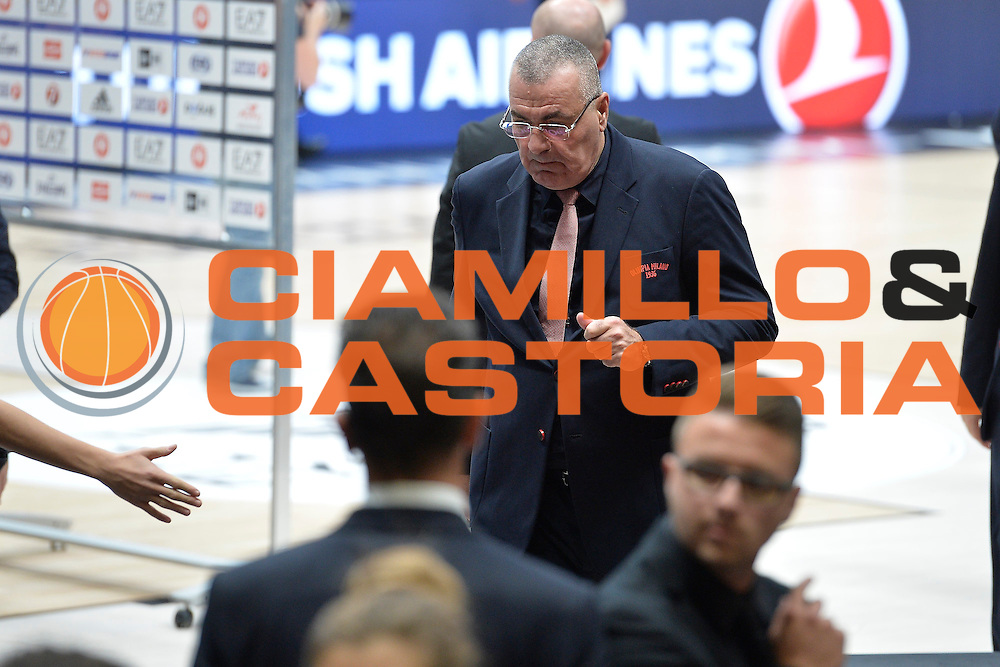 Jasmin Repesa<br /> Olimpia EA7 Emporio Armani Milano Real Madrid<br /> Eurolega  2016/2017<br /> Milano 27/10/2016<br /> Foto Ciamillo-Castoria<br /> Provvisorio