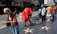Superman on Hollywood Boulevard