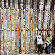 MEXICO: TIJUANA, THE WALL OF FEARS