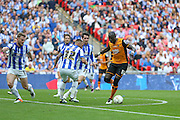 Hull City midfielder Mohammed Diame (17)  during the Sky Bet Championship Play-Off Final between Hull City and Sheffield Wednesday at Wembley Stadium, London, England on 28 May 2016. Photo by Phil Duncan.