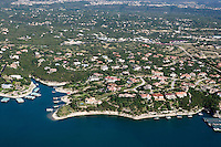 Luxury homes on Lake Travis, near Austin, Texas.