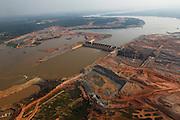 Porto Velho_RO, Brasil.<br /> <br /> Hidreletrica de Santo Antonio in Porto Velho, Rondonia.<br /> <br /> Santo Antonio hydroelectric in Porto Velho, Rondonia.<br /> <br /> Foto: MARCUS DESIMONI / NITRO