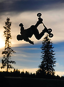 Byron Hetzler/Sky-Hi News<br /> Dave Stiefvater performs during the MBS Mountainboard demonstration on Saturday at Hideaway Park in Winter Park.