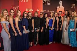 21-12-2016 NED: Sportgala NOC * NSF 2016, Amsterdam<br /> In de Amsterdamse RAI vindt het traditionele NOC NSF Sportgala weer plaats / Het dames handbalteam zijn genomineerd voor 'Sportploeg van het Jaar 2016'