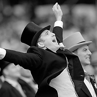 Gentlemen in Formal attire at Royal Ascot 2007, Ascot, England