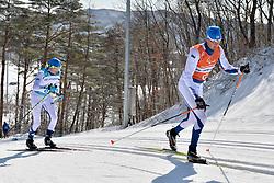 KLEMETTI Rudolf FIN B3 Guide: KALLUNKI Jaakko competing in the ParaSkiDeFond, Para Nordic 10km during the PyeongChang2018 Winter Paralympic Games, South Korea.