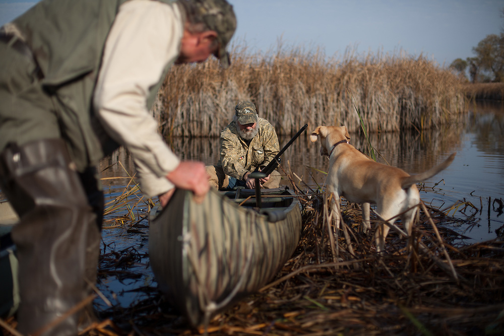 Duck Camp Monday, Oct. 22, 2012, in Au Gres, Michigan..Photo by Scott Morgan 2012