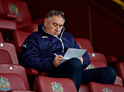 BURNLEY, ENGLAND - Thursday, August 16, 2018: Former Wales scout Martin Hodge before the UEFA Europa League Third Qualifying Round 2nd Leg match between Burnley FC and İstanbul Başakşehir at Turf Moor. (Pic by David Rawcliffe/Propaganda)
