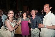 RICHARD WILSON, Tate Summer party. Tate Britian, Millbank. London. 28 May 2012