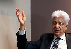 Indian entrepreneur and philanthropist & chairman of Wipro Limited, is pictured during an interview at a West London hotel, May 2011. Photo by Shaun Curry/i-Images.
