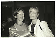 GHISLAINE MAXWELL, NADINE JOHNSON  NY Academy of Art benefit. Manhattan 1996