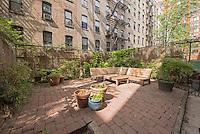 Garden at 46 West 130th Street