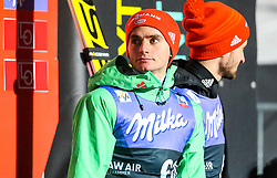 13.03.2017, Lysgards Schanze, Lillehammer, NOR, FIS Weltcup Ski Sprung, Raw Air, Lillehammer, im Bild Richard Freitag (GER), Markus Eisenbichler (GER) // Richard Freitag of Germany, Markus Eisenbichler of Germany //  during the 2nd Stage of the Raw Air Series of FIS Ski Jumping World Cup at the Lysgards Schanze in Lillehammer, Norway on 2017/03/13. EXPA Pictures © 2017, PhotoCredit: EXPA/ Tadeusz Mieczynski