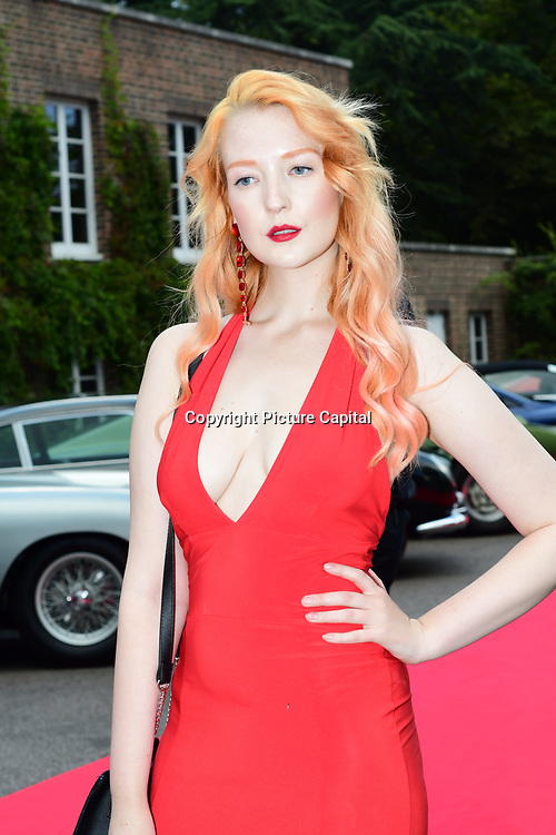 Victoria Clay attends the 2018 Grand Prix Ball held at The Hurlingham Club on July 4, 2018 in London, England.
