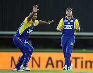 CENTURION, SOUTH AFRICA - 9  January 2009, Vernon Philander appeals, not successful, during the MTN Domestic Championship Semi Final match between The Nashua Titans and The Nashua Cape Cobras held at SuperSport Park, Centurion, South Africa..Photo by Barry Aldworth/SPORTZPICS