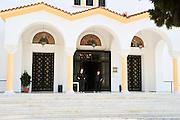 Greece, Rhodes, Kremasti The Church of Virgin Mary (Panagia Katholiki)