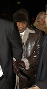 17.NOVEMBER.2005. LONDON<br /> <br /> CODE - EBDB <br /> <br /> MIKE TYSON AND AISLEYNE HORGAN WALLACE LEAVING CABARETE NIGHT CLUB IN SOHO, LONDON, UK.<br /> <br /> BYLINE: EDBIMAGEARCHIVE.CO.UK<br /> <br /> *THIS IMAGE IS STRICTLY FOR UK NEWSPAPERS AND MAGAZINES ONLY*<br /> *FOR WORLD WIDE SALES AND WEB USE PLEASE CONTACT EDBIMAGEARCHIVE - 0208 954 5968*