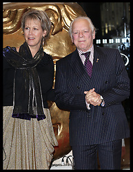 Sir David Jason  and wife Gill arriving at the British Academy Children's Awards in London, Sunday, 25th November 2012.  Photo by: Stephen Lock / i-Images