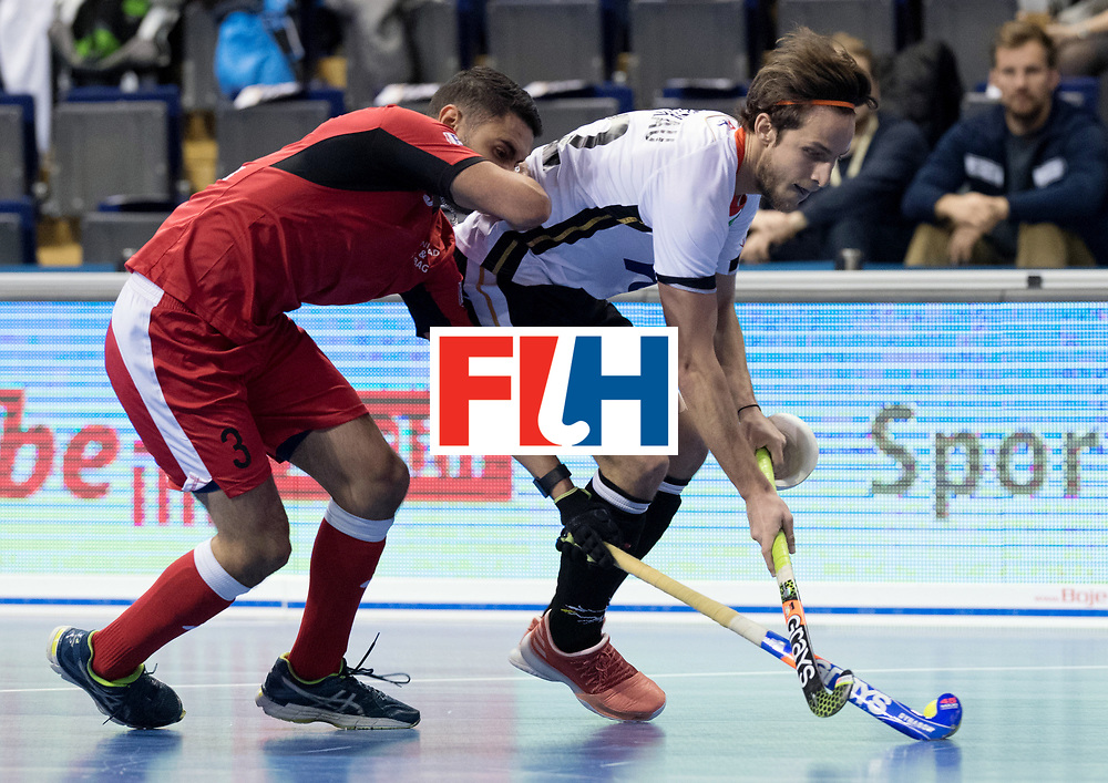 BERLIN - Indoor Hockey World Cup<br /> Men: Germany -  Trinidad &amp; Tobago<br /> foto: Marco Miltkau.<br /> WORLDSPORTPICS COPYRIGHT FRANK UIJLENBROEK