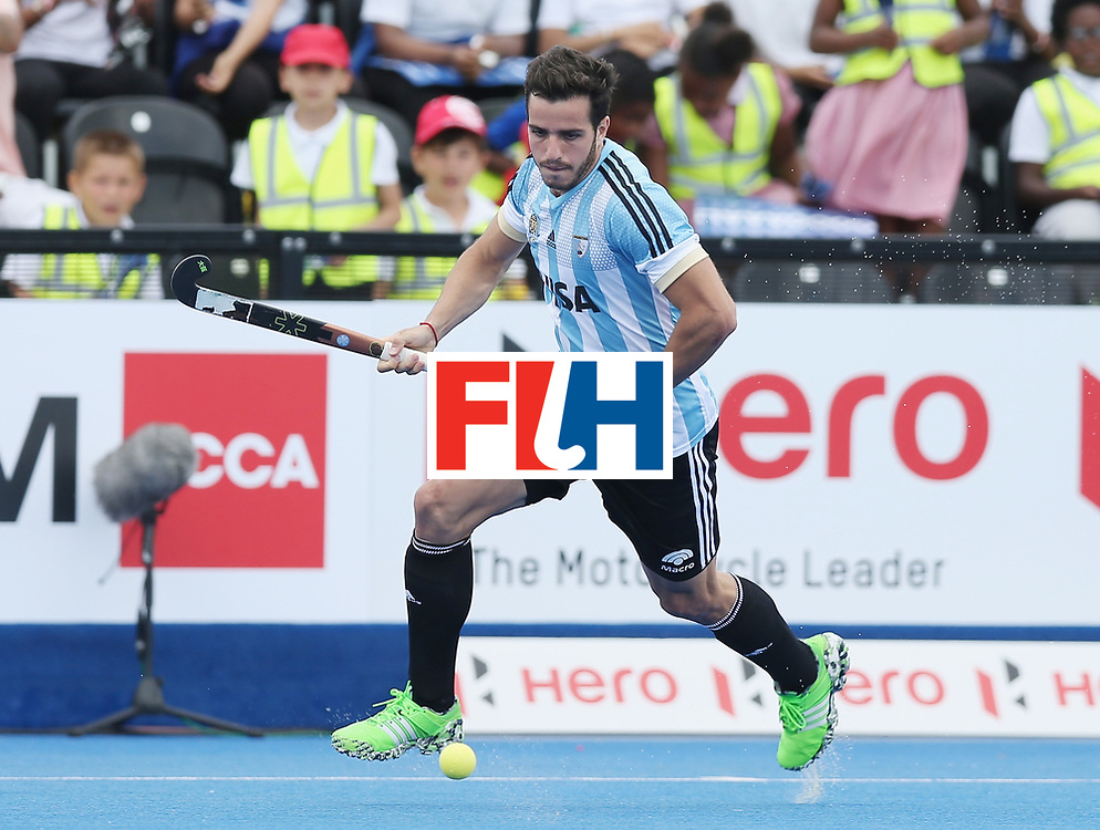 LONDON, ENGLAND - JUNE 15:  Agustin Bugallo of Argentina during the Hero Hockey World League Semi Final match between Korea and Argentina at Lee Valley Hockey and Tennis Centre on June 15, 2017 in London, England.  (Photo by Alex Morton/Getty Images)