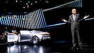 Mercedes concept car introduce by Dieter Zetsche at the North American International Auto Show in Detroit. Monday, Jan. 12, 2015. (Rick Osentoski)