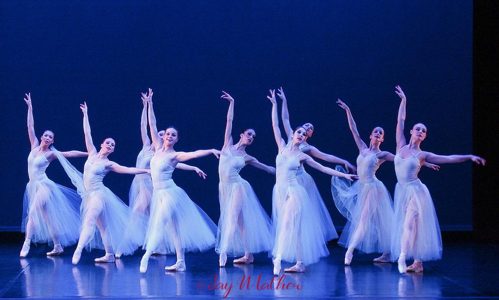 Sacramento Ballet performing Serenade, Firebird, Stars and Stripes. Wednesday, March 23, 2005.  Jay Mather