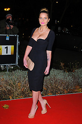 Helen Flanagan during Night of Heroes: The Sun Military Awards held at the Imperial War Museum, London, England, December 6, 2012. Photo by Chris Joseph / i-Images.