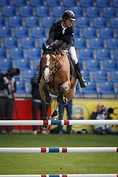 Van Paesschen Constant, (BEL), Hamlet vd Donkhoeve <br /> Sparkassen-Youngsters-Cup<br /> Weltfest des Pferdesports Aachen 2015<br /> © Hippo Foto - Dirk Caremans<br /> 29/05/15