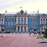 Early History Catherine Palace near Saint Petersburg, Russia<br />
