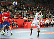 Nikola Karabatic (France) during the EHF 2018 Men's European Championship, 2nd Round, Handball match between Serbia and France on January 22, 2018 at the Arena in Zagreb, Croatia - Photo Laurent Lairys / ProSportsImages / DPPI