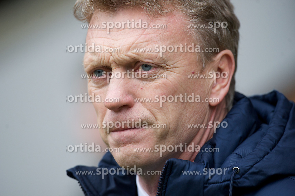 23.02.2013, Carrow Road, Norwich, ENG, Premier League, Norwich City vs FC Everton, 27. Runde, im Bild Everton's manager David Moyes against Norwich City during the English Premier League 27th round match between Norwich City FC and Everton FC at Carrow Road, Norwich, Great Britain on 2013/02/23. EXPA Pictures © 2013, PhotoCredit: EXPA/ Propagandaphoto/ David Rawcliffe..***** ATTENTION - OUT OF ENG, GBR, UK *****