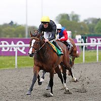 Masquerading and Ted Durcan winning 7.10 race