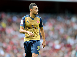 Francis Coquelin of Arsenal   - Mandatory by-line: Joe Meredith/JMP - 25/07/2015 - SPORT - FOOTBALL - London,England - Emirates Stadium - Arsenal v Lyon - Emirates Cup