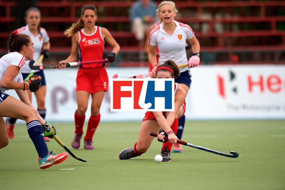 SANTIAGO - 2016 8th Women's Hockey Junior World Cup.<br /> 39 ENG v USA (7 / 8 Place)<br /> foto: <br /> FFU PRESS AGENCY COPYRIGHT FRANK UIJLENBROEK
