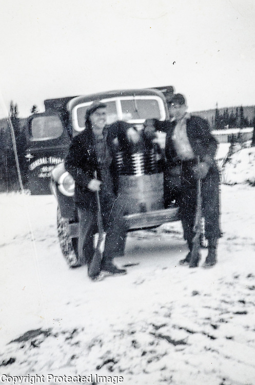 Dad, armed, and with truck # 4