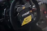 Change Racing steering wheel detail