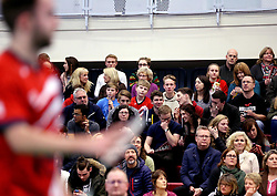 Bristol Jets fans - Photo mandatory by-line: Robbie Stephenson/JMP - 06/02/2017 - BADMINTON - SGS Wise Arena - Bristol, England - Bristol Jets v Surrey Smashers - AJ Bell National Badminton League