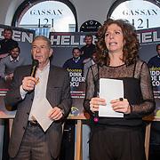 NLD/Amsterdam/20150202 - Presentatie sportblad Helden 25, Frits Barend en dochter Barbara Barend
