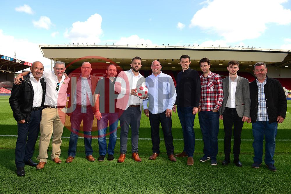 Matchball sponsors for the game against Millwall - Mandatory by-line: Dougie Allward/JMP - 19/08/2017 - FOOTBALL - Ashton Gate Stadium - Bristol, England - Bristol City v Millwall - Sky Bet Championship