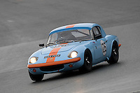 #126 David Holroyd Lotus Elan 1558 during the CSCC Adams and Page Swinging Sixties at Oulton Park, Little Budworth, Cheshire, United Kingdom. October 15 2016. World Copyright Peter Taylor/PSP. <br /> Copy of publication required for printed pictures.  Every used picture is fee-liable. http://archive.petertaylor-photographic.co.uk