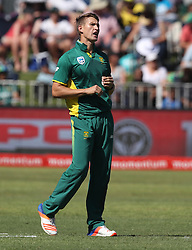 Dwaine Pretorius of South Africa during the 3rd ODI match between South Africa and Australia held at Kingsmead Stadium in Durban, Kwazulu Natal, South Africa on the 5th October  2016<br /> <br /> Photo by: Steve Haag/ RealTime Images