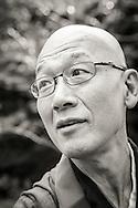 Zen monk Issho Fujita, Japan <br /> <br /> Chizanso Retreat in Hayama, Kanagawa Prefecture